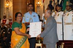 सीमा को राष्ट्रपति ने 'रानी लक्ष्मीबाई पुरस्कार ' से नवाजा