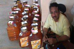 शराब माफिया की डायरी में भाजपा नेता का नाम