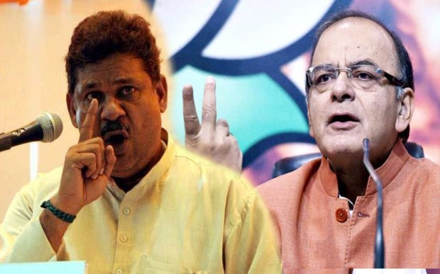 Kirti Azad requests cops to file FIR against Jaitley