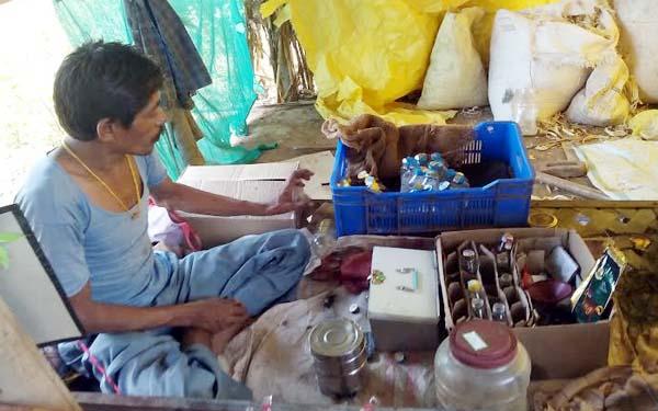 illegal liquor business in Burhanpur