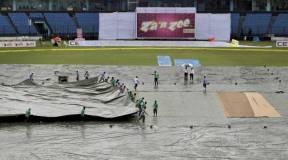 India vs Bangladesh टेस्ट मैच बारिश के कारण रुका