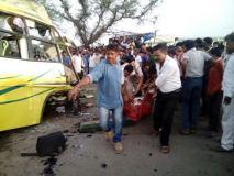 खंडवा सडक़ हादसे में  मृतकों की संख्या 25 हुई