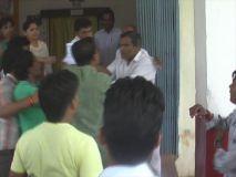 एबीवीपी कार्यकर्ताओं का कलेक्टरकार्यालय में आतंक