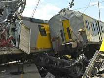ट्रेनों की भीड़ंत,300 से अधिक लोग घायल