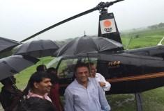 अरुण यादव के हेलीकॉप्टर की इमरजेंसी लैंडिंग