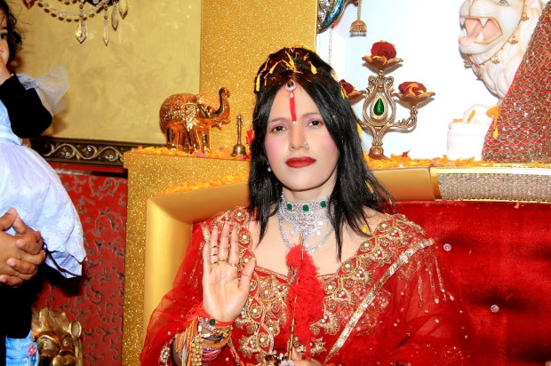 Radhe maa took charge of harassment for dowry
