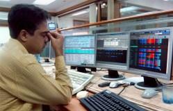 शेयर बाज़ारो में शुरुआती कारोबार में मामूली गिरावट