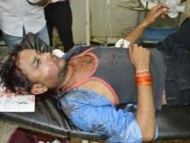 भाजपा नेता के पति ने पत्रकार पर किया जानलेवा हमला