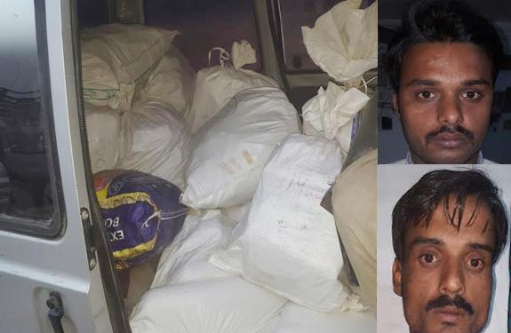 explosives recovered in Neemuch madhya pradesh