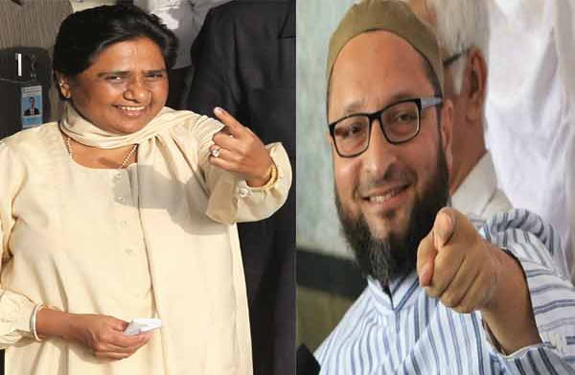 Mayawati and Asaduddin Owaisi
