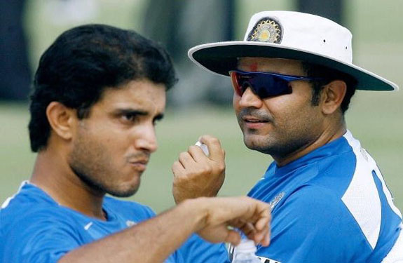 ganguly and sehwag