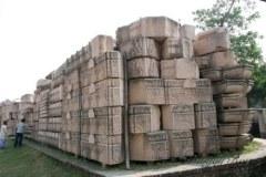 संसद मेें उठा मंदिर निर्माण के लिए लाए गए पत्थरों का मुद्दा