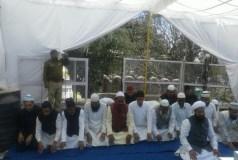 धार भोजशाला मे पूजा पाठ के बीच नमाज हुई