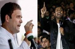 राहुल से मिलने पहुंचे  कन्हैया,कांग्रेस में शामिल हो सकते है