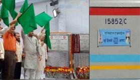 100 मिनट में दिल्ली से आगरा,प्रभु ने दिखाई हरी झंडी