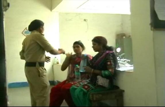 Mandala Girl Friend In Police Station