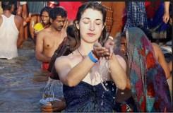 सिंहस्थ कुंभ : विदेशी श्रद्धालु दे रहे स्वच्छता का संदेश