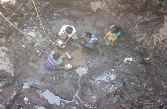 water crisis in betul madhya pradesh