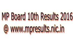 MPBSE 10th Result 2016: मुकेश चंदेल, दिव्या यादव टॉपर