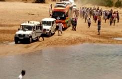 एमपी: चुनावी रथ रेत में फंसा, सीएम शिवराज नाराज़
