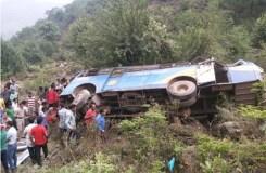 हिमाचल प्रदेश सड़क हादसा: मृतकों की संख्या 14 हुई