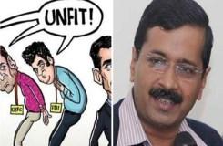 केजरीवाल ने कार्टून के जरिए मोदी सरकार का उड़ाया मजाक