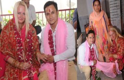 फेसबुक पर किसान के बेटे को USA की महिला से हुई मोहब्ब्त, की शादी