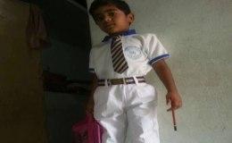7 साल के लड़के की  पिटाई, पहली क्लास के बच्चे की मौत