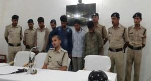 5 smuggler arrested in madhya pradesh mandla
