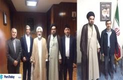 मौलाना जव्वाद ने तेहरान में फहराया तिरंगा