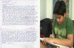 मोदी के नाम छात्र का पत्र: बच्चों की स्कूल बसें छोड़ दो !