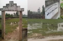 गाँधी गढ़ में ही 'आँसू' बहाता राजीव गांधी स्टेडियम !