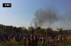 मुंबई: हेलिकाॅप्टर क्रैश, एक की मौत, 4 घायल