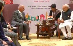 हार्ट ऑफ एशिया कॉन्फ्रेंस: आतंकवाद और हिंसा का खात्मा जरूरी