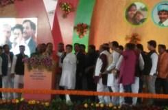 मंच पर मुख्यमंत्री से भिड़े कांग्रेस नेता !