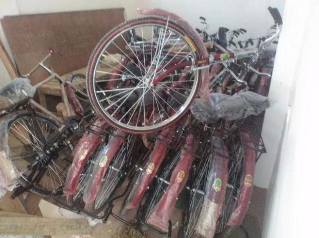 Gayatri Prajapati, cycle, saris, SP, Akhilesh Yadav, elections, voters