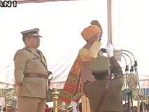 गणतंत्र दिवस पर सीएम शिवराज सिंह चौहान ने ध्वजारोहण किया