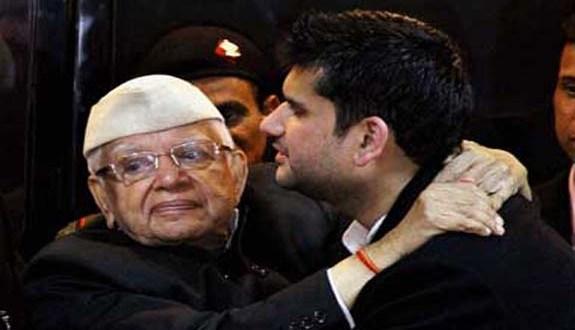 ND-Tiwari-son-Rohit-Shekhar-Join-BJP