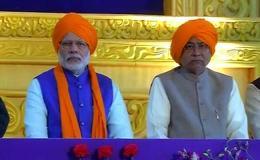 प्रकाश उत्सव पर पटना पहुंचे PM, नीतीश ने किया स्वागत