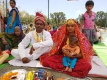 दिव्यांग माता पिता की शादी में बाराती बना 6 माह का बेटा