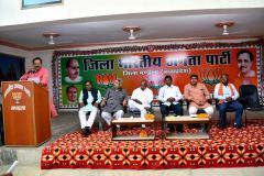 कार्यकर्ता ही भाजपा की जीत का आधार :  सुरेश देशपाण्डे