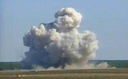 #ISIS ठिकाने परनिशाना, #US ने गिराया सबसे बड़ा बम- 36 आतंकी मरे