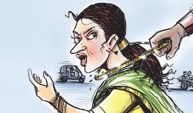 योगीराज: सैर पर निकली महिला से चेन स्नेचिंग कर गोली मारी , मौत