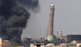 ISIS ने इराक की 800 साल पुरानी अल-नूरी मस्जिद को उड़ाया