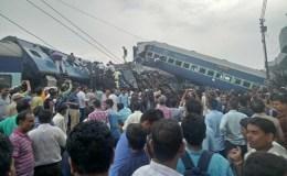 उत्कल एक्सप्रेस हादसा: रेलवे ने माना ट्रैक पर चल रहा था काम