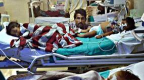 नहीं थमा गोरखपुर के अस्पताल में मौत का सिलसिला, 4 दिन में 76 बच्चों की मौत