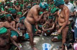 किसानों ने खाया अपना मलमूत्र, इंसानी मांस खाने की दी धमकी