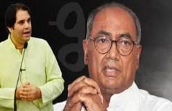 वरुण गांधी के बचाव में आए दिग्विजय सिंह, कहा- वह BJP में फिट नहीं बैठते