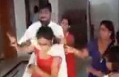 Video : नेताजी कर रहे थे दूसरी शादी, पत्नी ने जमकर पीटा