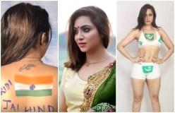 भारत-पाक का झंडा बनवाया था बॉडी पर, अरेस्ट हो सकती हैं अर्शी खान